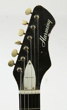 1960s Harmony Bobkat   thunder road guitars