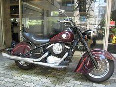 カワサキ バルカン400ドリフター(INFINITY) Motorcycle, Bike, Vehicles, Bicycle, Trial Bike, Rolling Stock, Motorcycles, Motorbikes, Vehicle