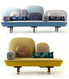 What an interesting interpretation of a sofa.