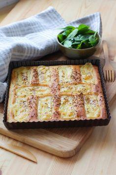 """750g vous propose la recette """"La VRAIE recette de tarte au Maroilles"""" publiée par cricridam."""