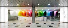 """Galería - Arquitecta hace flotar """"100 Colores"""" para festival de arte japonés - 3"""