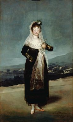 Title: Portrait of the Marquesa de Santiago  Artist/Maker(s): Francisco José de Goya y Lucientes (Francisco de Goya) (Spanish, 1746 - 1828)