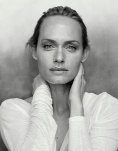 One of the most beautiful women in the world: Amber Valetta.