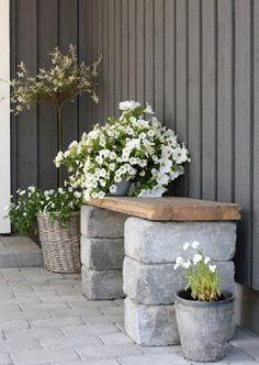 Gorgeous Front Yard Garden Landscaping Ideas - Home Decoration Easy Garden, Diy Garden Decor, Garden Web, Backyard Patio, Backyard Landscaping, Landscaping Ideas, Patio Ideas, Backyard Ideas, Cheap Garden Ideas