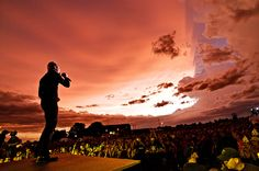 Thousand Foot Krutch at Sonshine Music Festival after a tornadic storm.