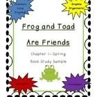 Frog and Toad Are Friends - FREE -  Vocabulary and comprehension activities for the story Frog and Toad Are Friends by Arnold Lobel. Common Core Aligned