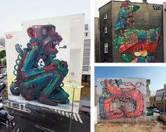 street art by ARYZ