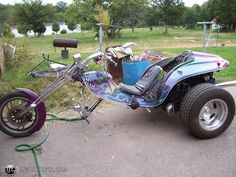 Monster Trike Trike Chopper, Vw Trike, 3 Wheel Motorcycle, Harley Davidson, Custom Trikes, 3rd Wheel, Pedal Cars, Drag Racing, Cool Bikes