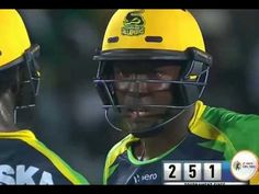 Chadwick Walton 97 runs from 54 and out  jamaica vs barbados CPL16
