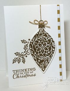 Christmas Ornament by stampercamper - Cards and Paper Crafts at Splitcoaststampers