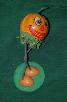 1920s jack o lantern hollow paperboard candy container vintage halloween ebay