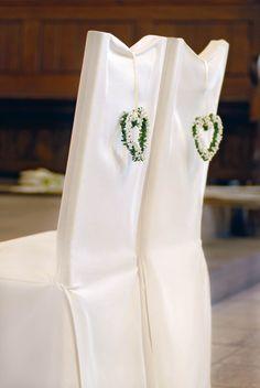 Kirchendekoration Grün und Weiß