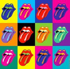 Pop art Colorful Lips