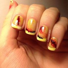 If Halloween is your favorite holiday, you'll want to give these nail art ideas a try.