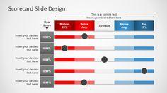 Balanced Scorecard Template Powerpoint Elegant Scorecard Slides for Powerpoint Slidemodel Professional Powerpoint Presentation, Powerpoint Design Templates, Slide Design, Office Organization, Data Science, Human Resources, Project Management, Bar Chart, How To Plan