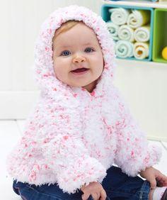 Baby's Huggable Hoodie Knitting Pattern...FREE PATTERN