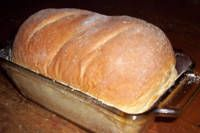 Very simple bread recipe. I make two loaves of this every week for my family of four. The bread stays soft and good for up to a week. My boys say they like this bread better than any bread they can get from the bakery or grocery store. As finicky as they are, that is high praise!