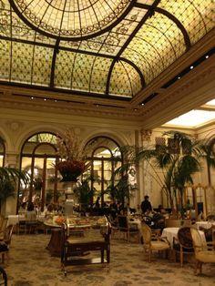 Plaza Hotel Palm Court, Manhattan