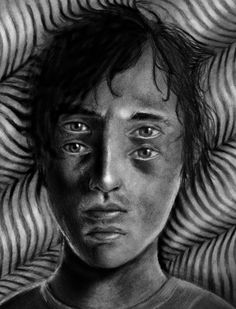 Intoxicated by Sebmaestro on DeviantArt The most common effect of being strongly intoxicated - seeing double. It's made with pencils (5B, 6B. 7B, 8B) rubber gums, kneeded rubber, and some tissues. by sebastian eriksson