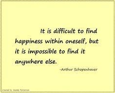 Quotable - Arthur Schopenhauer