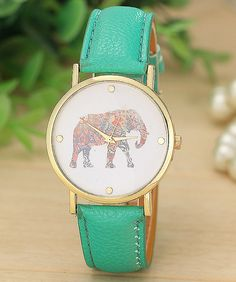 A wristwatch whose profits help support elephant conservation.