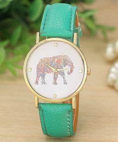 A wristwatch whose profits help support elephant conservation.