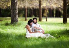 #engagement #photography #green #nature #sunshine #engagementphotographyideas #whimsicalengagement