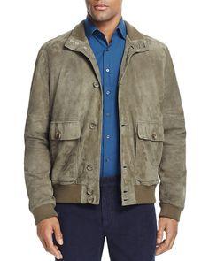 Thomas Pink Holdsworth Suede Jacket - 100% Bloomingdale's Exclusive