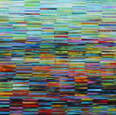 """Acrylic on Wood Panel  48"""" x 48""""  2011"""