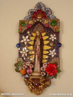 Virgin de Guadalupe Retablo