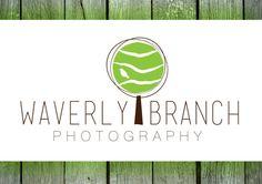 Photography Logo Premade Logo Design Hand Drawn by RianNeilDesigns