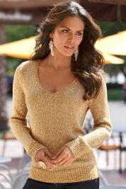 Boston ProperV-neck sparkle sweater - gorgeous!!