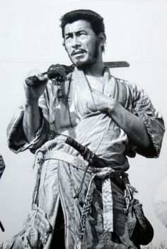 Seven Samurai Mural by Masao Hanawa 14M X 26M (46ft X 86ft), hand painted mural at Toho Co. Studio in Japan.