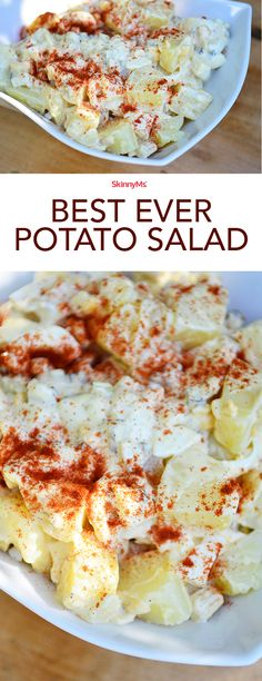 Best Ever Potato Salad! Try it this holiday weekend!!