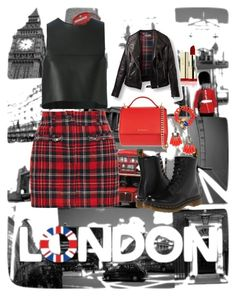 """""""Untitled #26"""" by sammy-skuse on Polyvore featuring Filles à papa, Fendi, Dr. Martens, Givenchy, Dsquared2 and BaubleBar"""