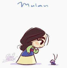 Mulan~ By David Gilson