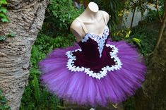 From Attitude Tutus and Stageware- Absolutely Gorgeous! Purple Tutu, Sequin Appliques, Baroque Fashion, French Lace, Dance Costumes, Absolutely Gorgeous, Attitude, Strapless Dress, Sequins