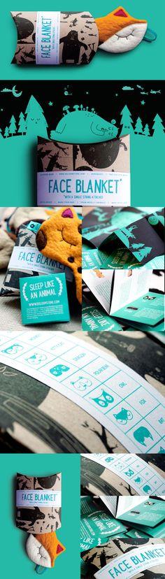 Ööloom Sleeping Masks - Face Blanket