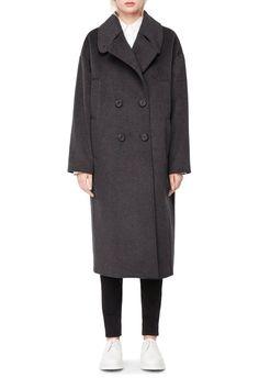 Weekday image 5 of Protest Coat in Grey Dark