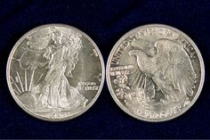 This stunning 1943 Walking Liberty Half Dollar was designed by Adolph A Weinman during the Renaissance of US Coin Design! These 90% silver coins are known for their beautiful design. The design was so popular that it was resurrected for use on the American Silver Eagle. This is an exciting example of a Brilliant Uncirculated Walking Liberty and is a stunning addition to any collection!