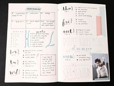study inspiration — lostlxmb: [fri. 26 february] here are my spreads...