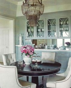 love the curved mullions in the glass doors