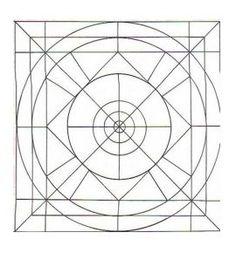Mandala géométrie #mandala #mandalas #coloriage