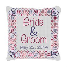 Salo Ring Bearer Pillow Needlepoint Kit