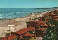 Bandar Pahlavi beach long time ago