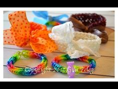 How to close a Rainbow Loom bracelet with a jump ring, bead or ribbon. Tutorial by Arty Crafty. Click photo for YouTube tutorial. 11/19/13.