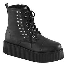 d87bbd59b27 V-CREEPER-573 Mens Zipper Boots