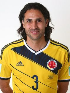 Las fotos oficiales de #Colombia #Fifa #Brasil2014 - Mario Yepes National Football Teams, Football Soccer, Football Players, World Cup 2014, Fifa World Cup, Lionel Messi, Zinedine Zidane, Chelsea Fc, Tottenham Hotspur