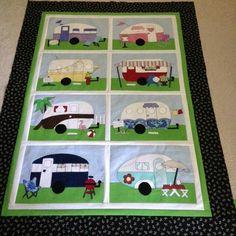 Eunice's camper quilt by Amy Bradley. http://www.amybradleydesigns.com/Amy-Bradley-Designs-Campers-Pattern/dp/B00RY997JK