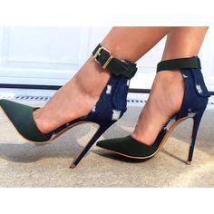 Shoespie Fashion Buckle Dress Sandals